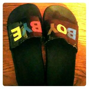 Boy Bye Shoes/slippers